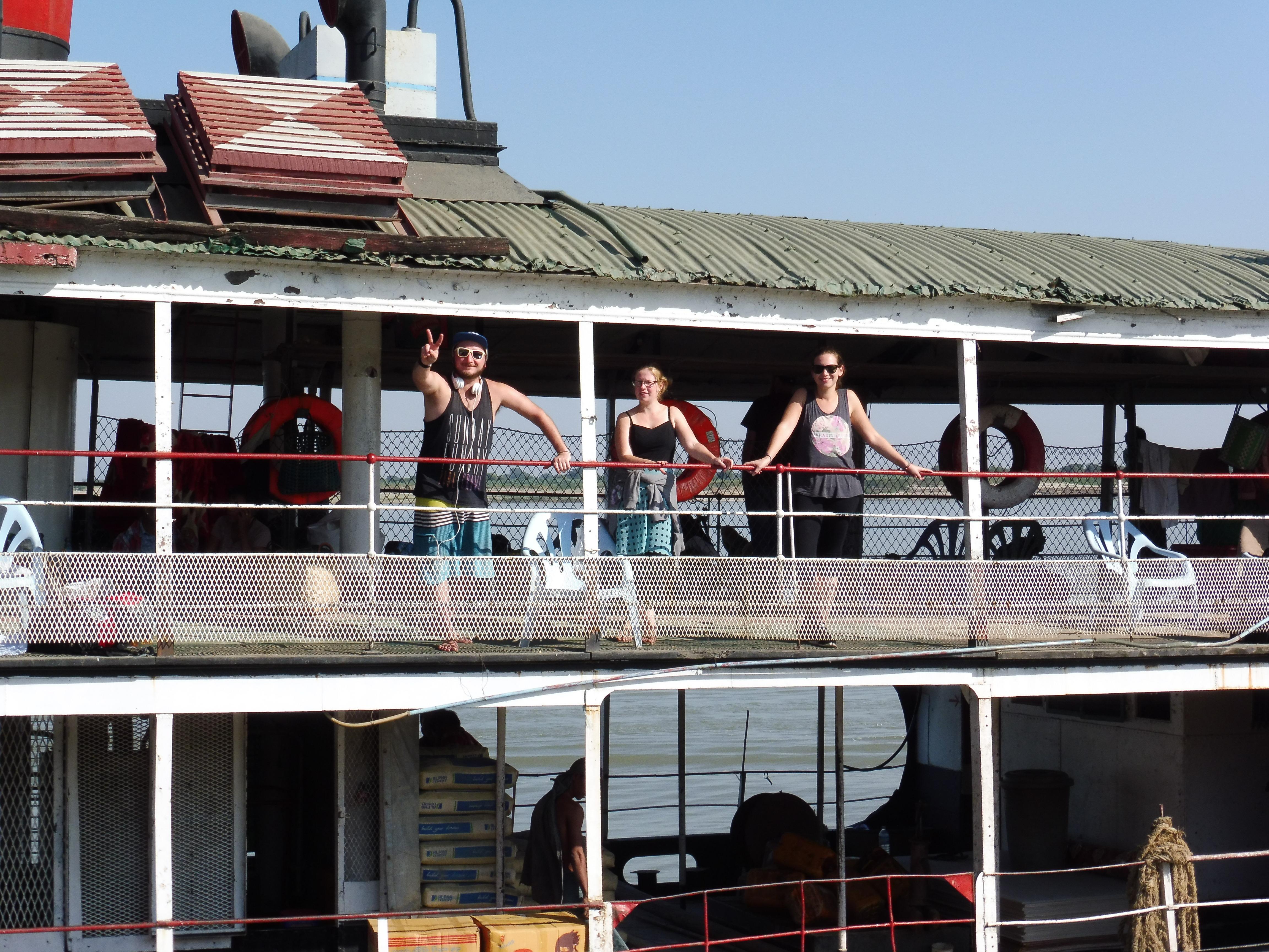 Boat Irrawady